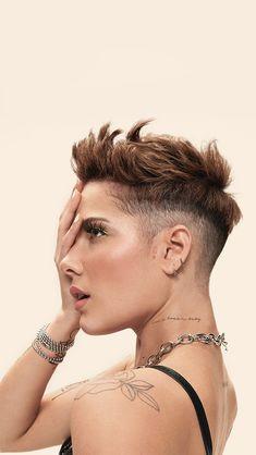 Pixie Hairstyles, Pixie Haircut, Cool Hairstyles, Hair Inspo, Hair Inspiration, Short Hair Cuts, Short Hair Styles, Pixie Cut, Short Curly Hair