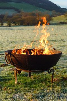 Kadai Fire Bowl. Ideas for garden party decorations, table Settings, garden lighting and DIY party games from the House & Garden team. Turn your garden in to an enchanting party venue.