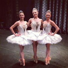 Megan fairchild, Sara mearns and tiler peck three beautiful NYCB principal dancers