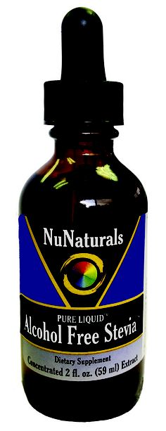 NuNaturals Pure Liquid Alcohol Free NuStevia - $14.15 from Little Book of Thin's No-Rollodex