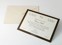 Invito nozze classico CL616B
