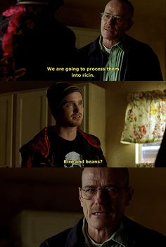 Breaking Bad. Possibly the greatest line in the show.