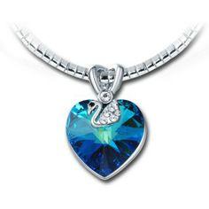 Trendy Lady Fantasy Jewelry Fashion Cadeau Collier Pendentif Cristal Talon Haut Chaussure
