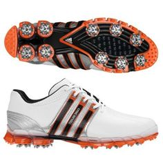Made from premium full-grain leather these mens Tour 360 ATV golf shoes by Adidas will ensure you stay dry and comfortable when out on the course Mens Nike Golf Shoes, Womens Golf Shoes, Shoes Women, Golf Attire, Golf Outfit, Adidas Golf, Adidas Men, Adidas Samba, Cheap Golf Clubs