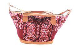 Medium Huipil Bag-Lilae