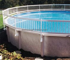 23 Best Above Ground Pool Fence Images In Ground Pools Above