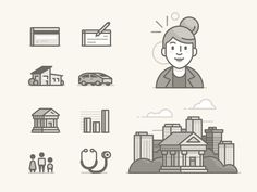 Unused Icons by Ryan Putnam - Best #icons http://iconutopia.com/best-icons-of-the-week-week-15/