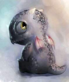 Hatchling by ~Youngsta1 on deviantART (See also my board Dragon Babies & Eggs)