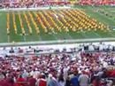 This is the University of Southern California (USC) Trojan Marching Band's Countermarch... They only do this at the USC vs. Stanford games to mock the Stanford band.