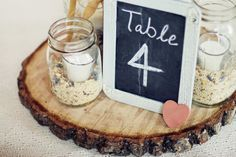 Samantha Elizabeth: Rustic Country Wedding Centerpieces