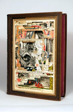 BOOK SCULPTURES BY BRIAN DETTMER
