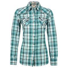 Ariat Women's Collins Long Sleeve Plaid Western Shirt