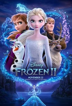 Frozen 2 (stylized as Frozen II) is an American computer-animated musical fantasy film produced by Walt Disney Animation Studios. The film produced by the studio, it is the sequel to the 2013 film Frozen. Film Frozen, Frozen Disney, Princesa Disney Frozen, Film Disney, Frozen Frozen, Disney Magic, Disney Movies Free, Frozen 2013, Disney Movie Posters
