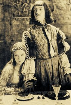 William Powell and Lillian Gish in 'Romola' (1924) ...