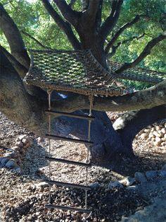 Woven tree platforms