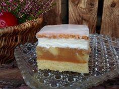 Apfel- Sahne- Schnitte Vanilla Cake, Tiramisu, Ethnic Recipes, Desserts, Food, Fondant, Muffins, Apple Pie Oatmeal, Apple Juice