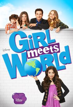 'Girl Meets World' on the Disney Channel. So, I've often been accused of having the taste of a 13 year old girl. I kinda felt like I was getting old when all the new shows on the Disney Channel were awful & unappealing to me. This show has brought me back. Yay! I *still* have the mind of a 13 year old. Yipeee! ☺ :-D