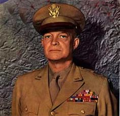 """Dwight David """"Ike"""" Eisenhower was the 34th President of the United States from 1953 until 1961. He had previously been a five-star general in the United States Army during World War II and served as Supreme Commander of the Allied Forces in Europe; he had responsibility for planning and supervising the invasion of North Africa in Operation Torch in 1942–43 and the successful invasion of France and Germany in 1944–45 from the Western Front. In 1951, he became the first supreme commander of…"""