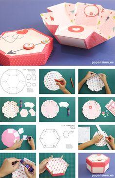 caja-hexagonal-scrapbooking-exploding-box-tutorial