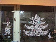 Christmas beautiful snowflakes