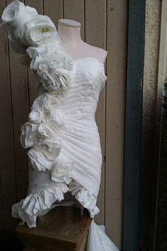 Wedding Dresses ~ The TP Edition | Toilet paper, Toilet and Toilet ...