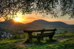 Sunset in the country....