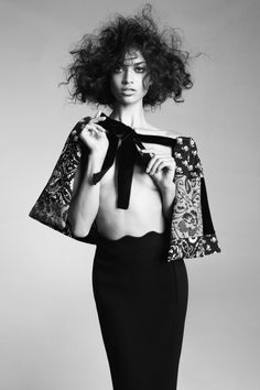 Shanina Shaik | Nicole Bentley #photography |  Vogue Australia, May 2012