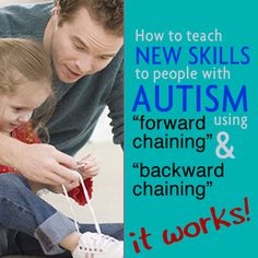 Learn this easy teaching technique by clicking through on the graphic. REPIN to help others too! #autism