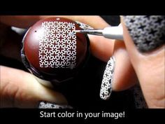 Frightfully Spectacular nail polish review/Nail tutorial. Advance Nail Stamping Technique. - YouTube