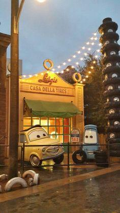 Cars, Disneyland, Paris.