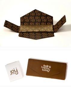 Joy chocolate bar.