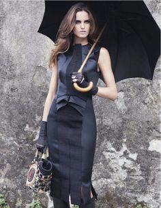 Classy shades of black dress