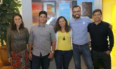Carina Guedes, Marcos Rabelo, Tatiana Silva, João Souza, Ricardo Abrahão