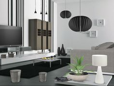 DESIGNER LIVING ROOM LEGER LIVE BY C Designer Living, Living Room Designs, Ceiling Lights, Live, Home Decor, Ceiling Lamps, Interior Design, Decorating Living Rooms, Home Interior Design