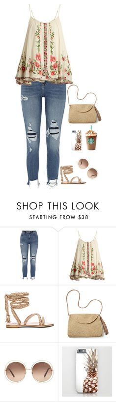 """Untitled #523"" by mrsfreespirit ❤ liked on Polyvore featuring River Island, Mes Demoiselles..., Mar y Sol and Chloé"