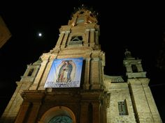 One of the main and most beautiful Puerto Vallarta landmarks, the Our Lady of Guadalupe church (cathedral) in downtown just off the Malecon walkway. Puerto Vallarta, Vallarta Mexico, Cultural Events, Local Attractions, Our Lady, See Photo, Seaside, Cathedral, Art Gallery