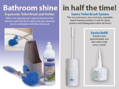Get your bathroom sparkling without the harmful chemicals