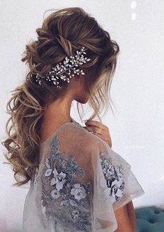 Featured Hairstyle: Ulyana Aster; www.ulyanaaster.com; Wedding hairstyles ideas. #weddinghairstyles