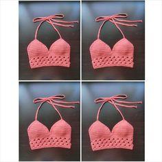 Gypsy Top Crochet Crop Top por LostCulture en Etsy