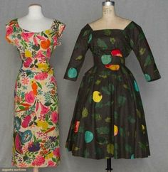 Absolutely perfect fruit dress! The dress on the left is my dream dress!