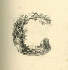 Litografías tipográficas y paisajísticas  - Sandra Almeida Blog