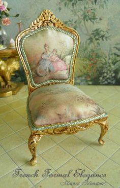 French Elegance miniature