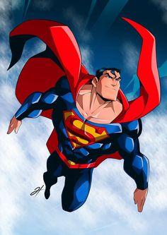 Superman Drawing, Superman Characters, Superman Movies, Batman Artwork, Superman Family, Superhero Villains, Superman Man Of Steel, Superman Comic, Man Of Steel