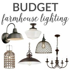 Hey hey, my friends! Did y'all see the new lighting in my kitchen? I love them so much, I thought I'd share some of my budget farmhouse lighting finds that I found in my searches for new fixtures! I know Fixer Upper is all the rage these days, as is the farmhouse trend. I'll be …