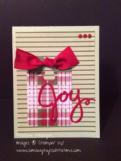 So Many Toys So Little Time...Stampin' Up! Freshly Made Sketches 158, Trim the Tree, Wondrous Wreath