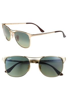 Metal cat-eye Ray Ban shades!
