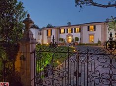 Georges Marciano Mansion, Beverly Hills, California $24,500,000
