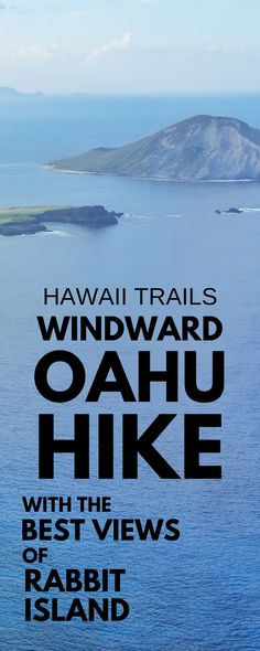 Best Oahu hikes with views. Makapuu Point Lighthouse Trail, Hawaii, USA. Best views on this hiking trail! Top travel bucket list item for hiking in Hawaii on vacation, things to do on Oahu, especially for whale watching if whale season in Hawaii. This hike is easy to get to from Waikiki and Honolulu, there's nearby Hanauma Bay snorkeling beach, Koko Head hiking. Outdoor travel destinations and activities for budget adventures! What to wear and what to pack for Hawaii packing list! #oahu…