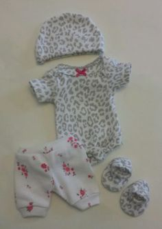 Ooak Baby Doll Clothes Bodysuit Tiny Miracle Mini Reborn Micro