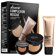 Bare Escentuals bareMinerals Discover Complexion Rescue 3pc Set - Tan 07 * You can get more details by clicking on the image.